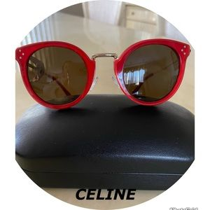 Celine 49mm Round Sunglasses